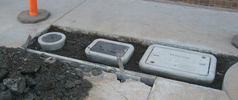 Demolition Earthwork Storm Drain Underground Utilities